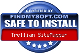 Trellian SiteMapper has been found SAFE TO INSTALL on any computer.