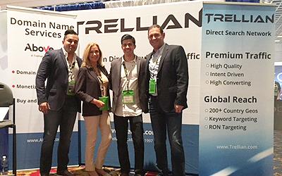 leadscon-booth-trellian-team